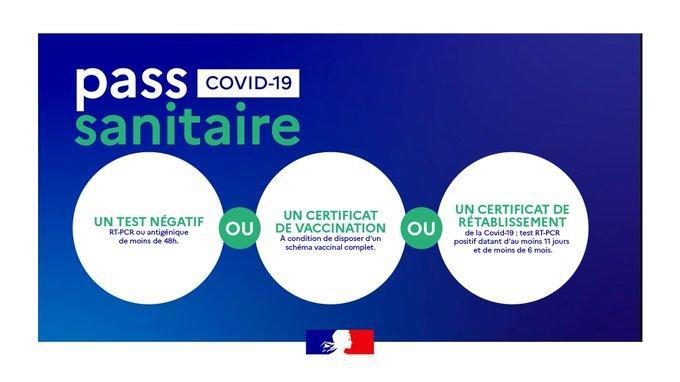 Pass sanitaire Covid-19